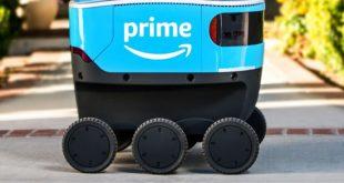 Amazon Scout: il robot che consegna i pacchi porta a porta