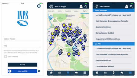 App INPS mobile