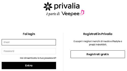 Assistenza clienti Privalia
