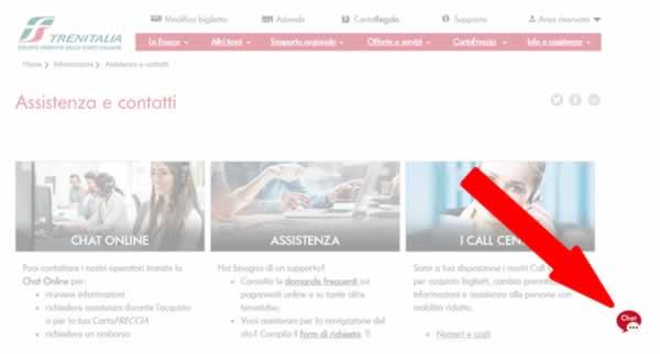 chat Trenitalia