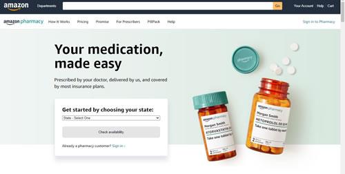 Come funziona Amazon Pharmacy