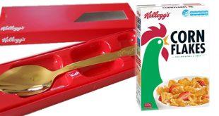 Cucchiai personalizzati Kellogg's: divertenti e da collezionare