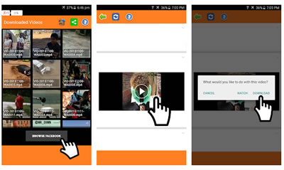 Video Downloader Facebook Android