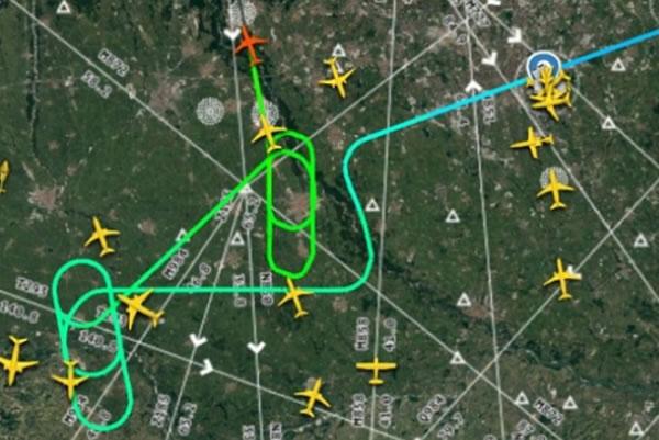 Drone su Malpensa
