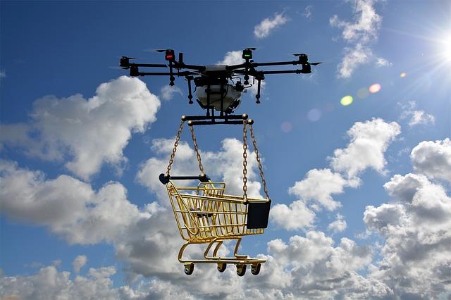 Droni per la consegna di pacchi