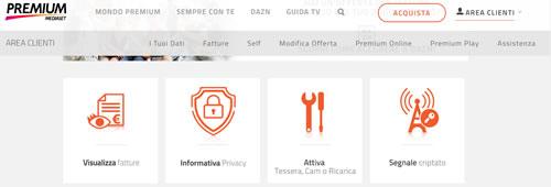 Sito ufficiale Mediaset Premium