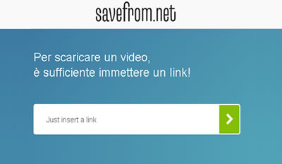 Salvare un video da Facebook con SaveForm