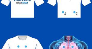 Arriva da Samsung la maglietta per la diagnosi di malattie polmonari