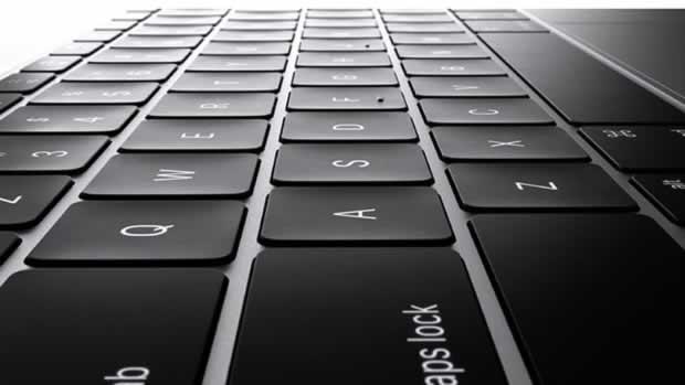 Tastiera ultrapiatta MacBook