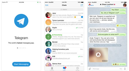 Scaricare Telegram su iOS