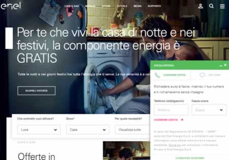 Web chat Enel